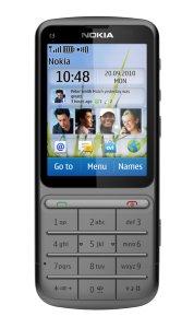 Nokia C3-01 med abonnement