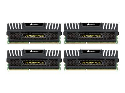 Corsair Vengeance DDR3 1600MHz 16GB CL9 1,5V (4x4GB)