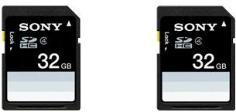 Sony SDHC Class 4 32 GB