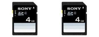 Sony SDHC Class 4 4 GB