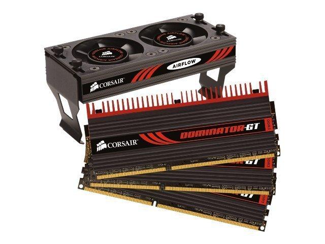 Corsair Dominator GT DDR3-2000  6 GB (3x2GB)