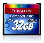 Transcend Compact Flash 400x 32 GB