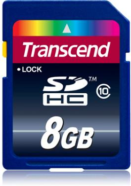 Transcend SDHC Class 10 8 GB