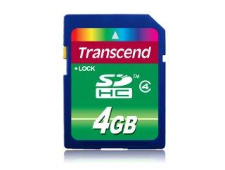 Transcend SDHC Class 4 - 4 GB