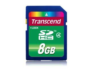Transcend SDHC Class 4 - 8 GB