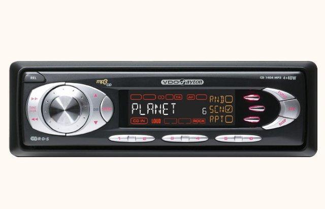 VDO Dayton CD 1404 MP3