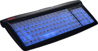 Keysonic ACK-715 EL USB tastatur m/blått lys