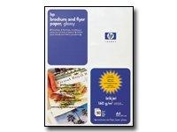 HP Papir Dobbeltsidig Brosjyrepapir A4