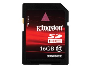 Kingston SDHC Class 6 16GB