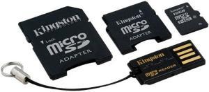 Kingston microSDHC 16GB Class 10 (Mobility Kit)