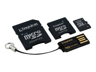 Kingston microSDHC 16GB Class 10 (Mobility Kit)