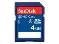 SanDisk Secure Digital SDHC 4GB