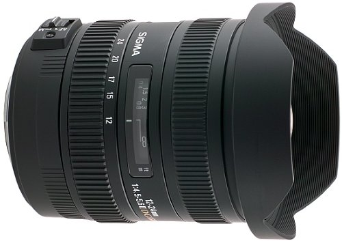 Sigma 12-24mm f/4.5-5.6 EX DG HSM II for Canon