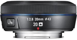 Samsung NX 20mm f/2.8 iFn