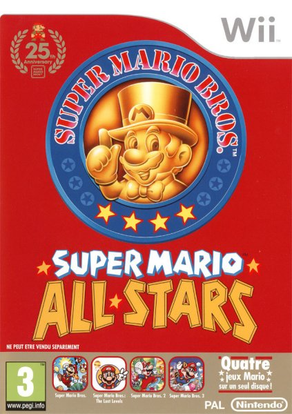 Super Mario All-Stars: 25th Anniversary Edition til Wii