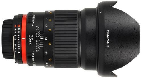 Samyang 35 mm F1.4 AS UMC for Canon