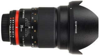 Samyang 35 mm F1.4 AS UMC for Sony A