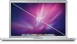 Apple Macbook Pro i7 2.2 GHz 17 (matt skjerm)