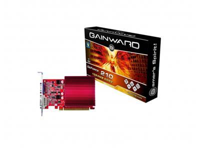 Gainward GeForce 210 1GB PhysX CUDA