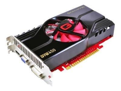 Gainward GeForce GTS 450 1GB PhysX CUDA