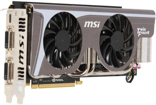 MSI GeForce GTX 580 Twin FrozrII/OC 1536MB