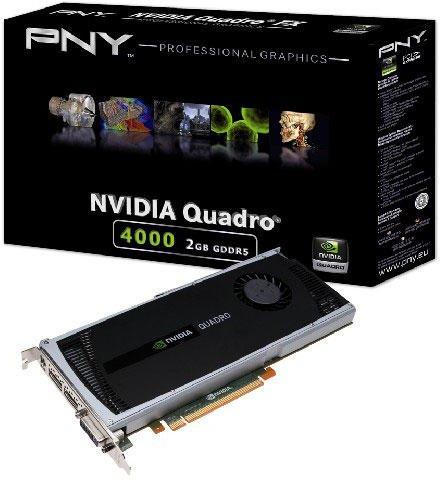 PNY Quadro 4000 2GB