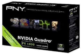 PNY Quadro FX 1800 768MB
