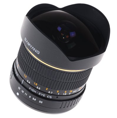 Samyang 8mm F3.5 Fisheye for Canon