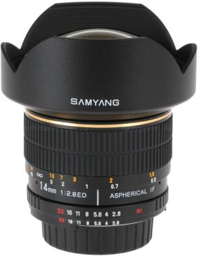 Samyang 14mm F2.8 IF ED MC Aspherical for Canon