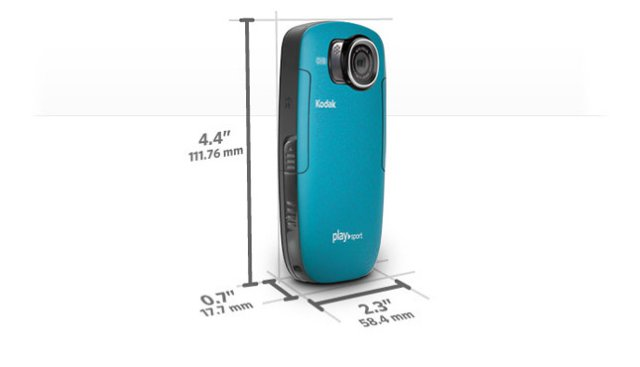 Kodak PlaySport Zx5 Blå