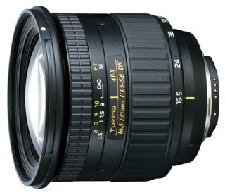 Tokina AT-X 16,5-135mm f/3.5-5.6 DX for Canon