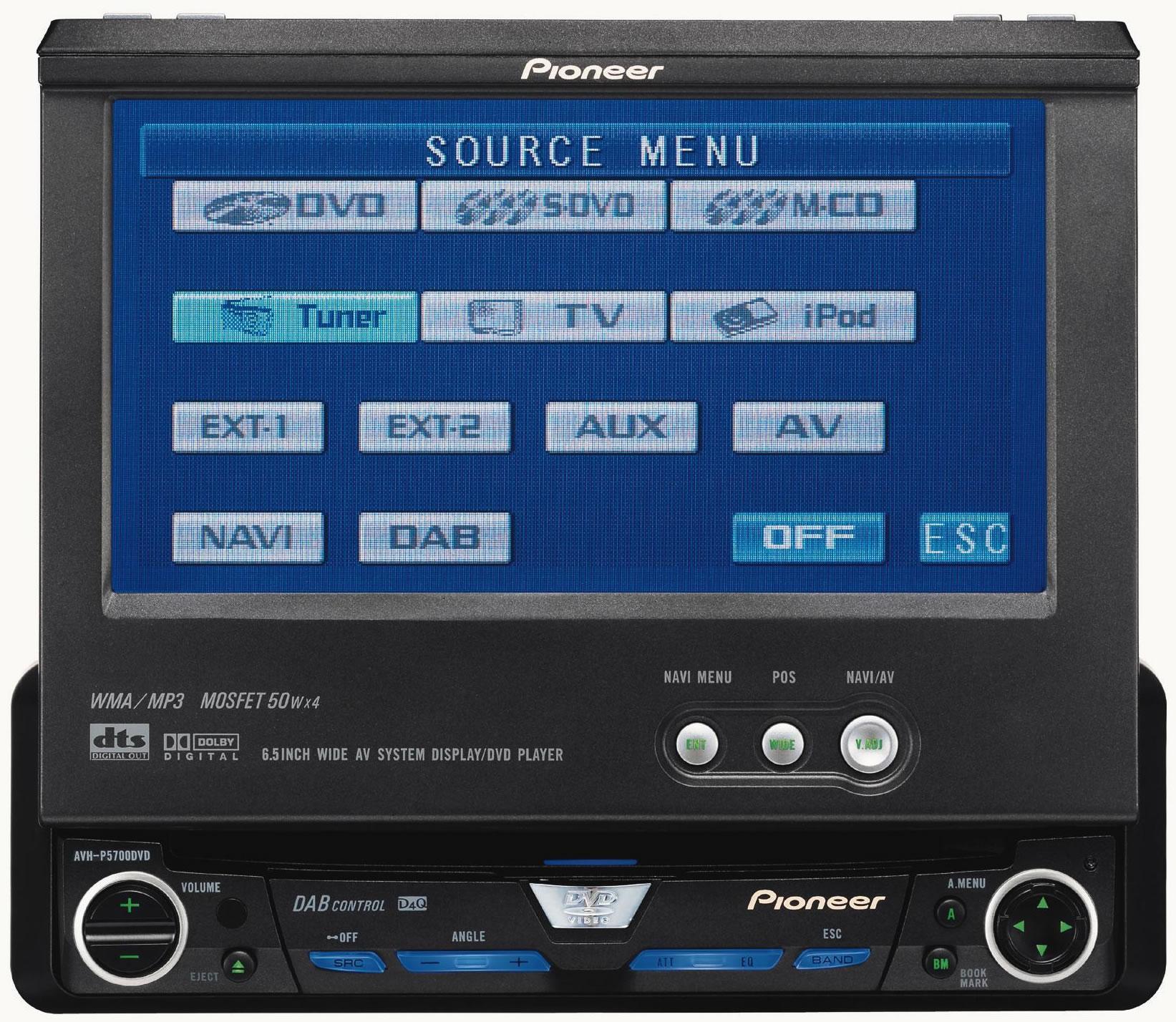 Pioneer Avh-a3100dab Related Keywords & Suggestions - Pioneer Avh ...