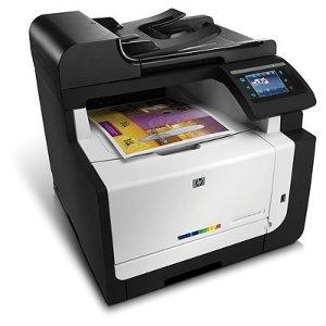 HP LaserJet Pro CM1415fnw farge MFP-enhet