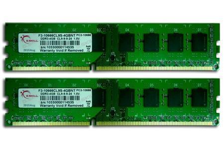 G.Skill NT DDR3-1333 8GB (2x4GB)