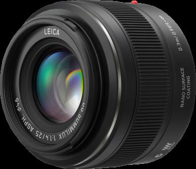 Panasonic Leica Summilux DG 25 mm f/1.4