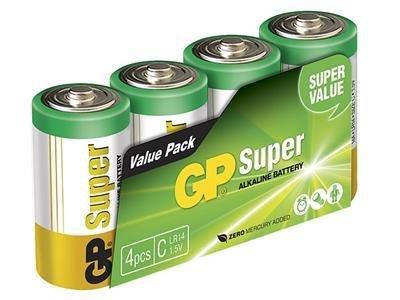 GP 4-pack C/LR14 alkaline