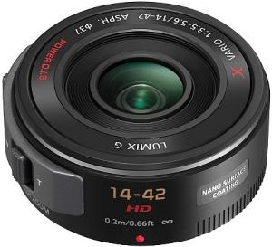 Panasonic Lumix G X Vario PZ 14-42mm F3.5-5.6 OIS pancake