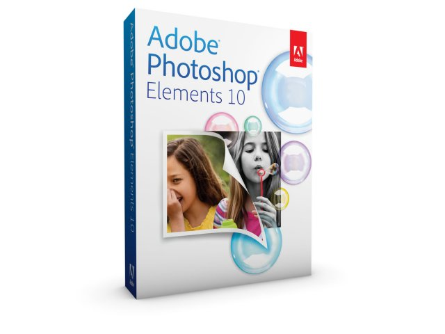 Adobe Photoshop Elements 10 engelsk fullversjon