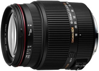 Sigma 18-200mm f/3.5-6.3 II DC OS HSM for Canon