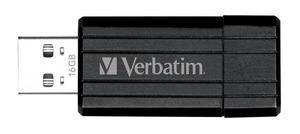 Verbatim Pin Stripe 32 GB Black
