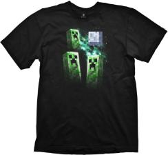 Mojang Minecraft Three Creeper Moon