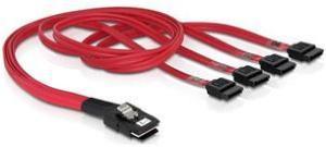 Deltaco SAS-kabel m-SAS til SATA
