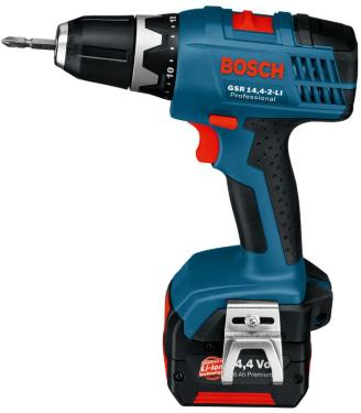 bosch gsr 14 4 2 li 2x1 5ah priser tester og tilbud drill slagdrill batteri. Black Bedroom Furniture Sets. Home Design Ideas