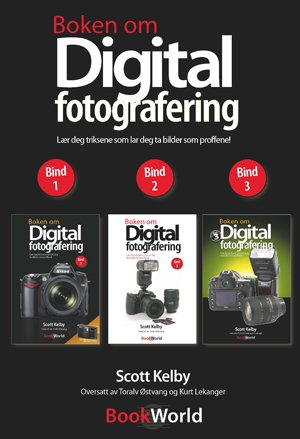 Bookworld Boken om digitalfotografering 1, 2 og 3
