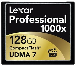 Lexar Professional 1000X CompactFlash 128GB UDMA 7