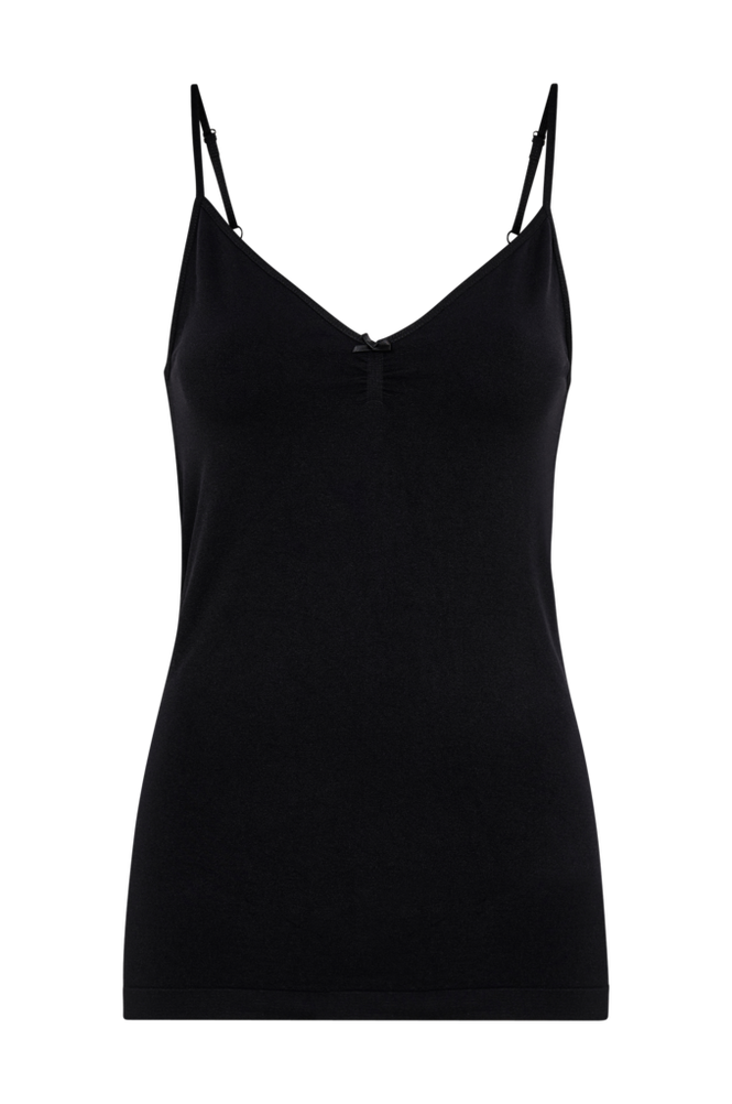 Saint Tropez Singlet Women Black