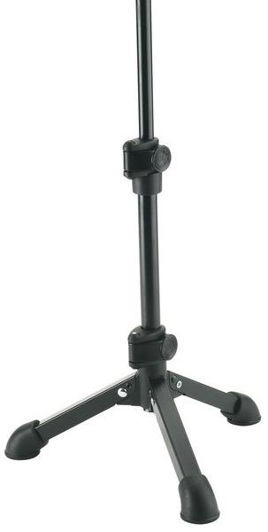 K&M 23150 TABLETOP MICROPHONE STAND black 1/4