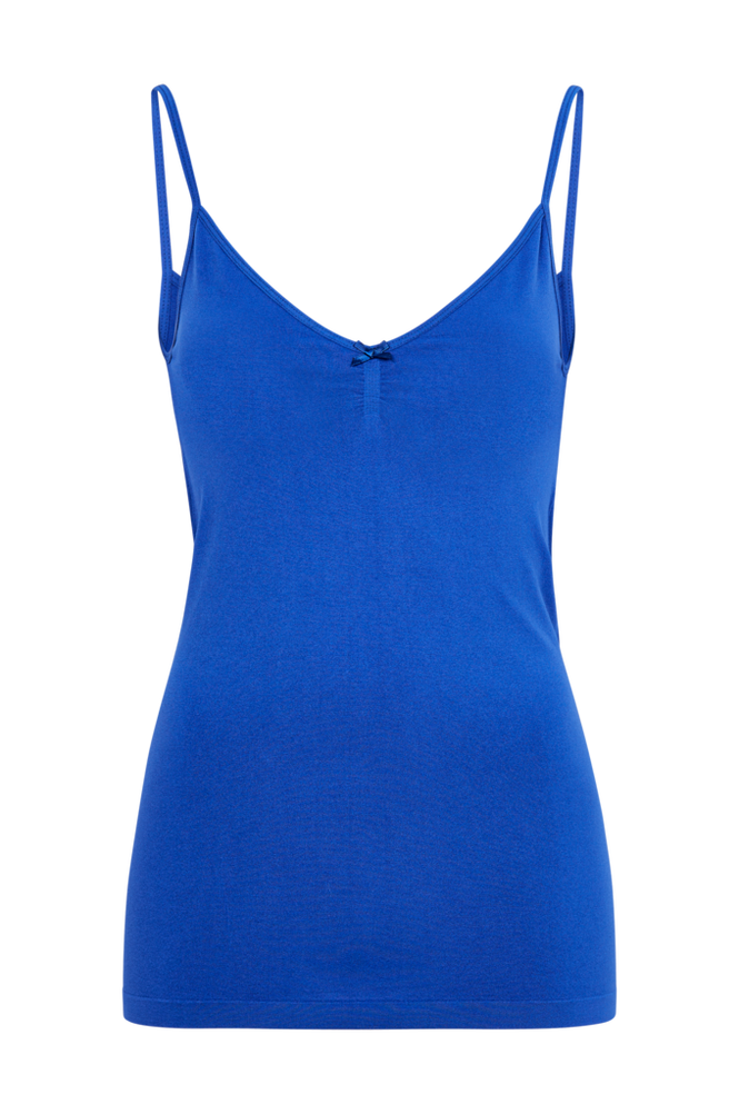 Saint Tropez Singlet Women Blue