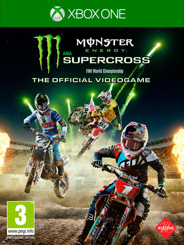 Monster Energy Supercross Xbox One The Official Videogame