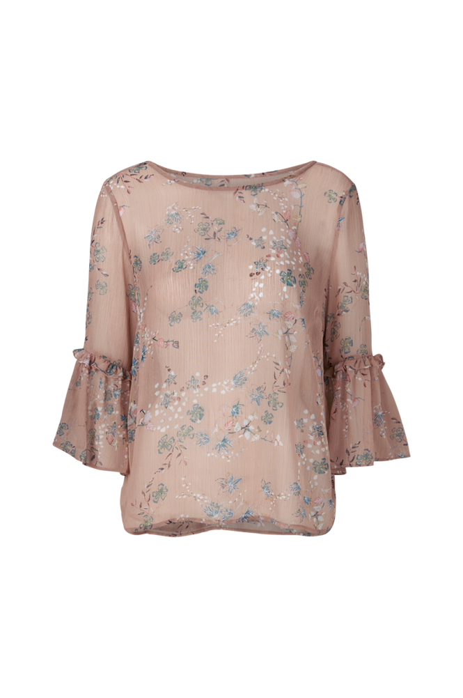Saint Tropez Bluse Slow F P Top Women Rosa